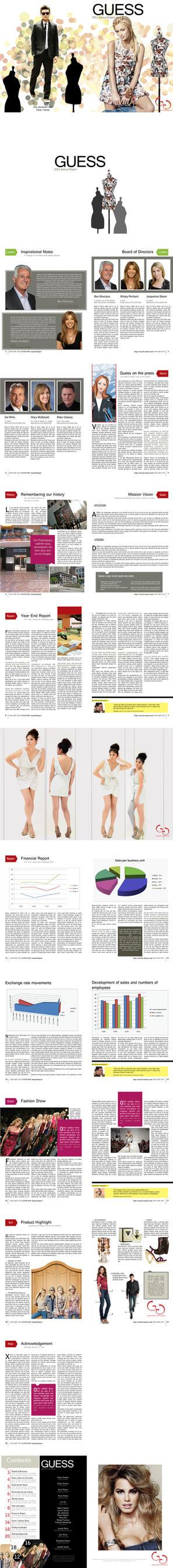 Annual Report Magazine under Professor Ariel Ponce by eizu