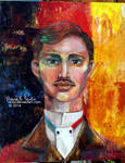 Spontaneous. A Jose Rizal Painting in Germany.