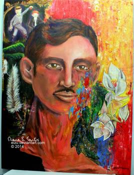 Mindful Escapade. A Jose Rizal Painting.