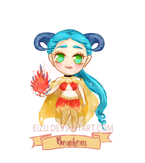 Auction ( OPEN ) Adoptable _ Beauhorns _ (Youtube)