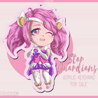 Star Guardian Lux - Acrylic Keychains For Sale by eizu