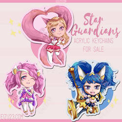 Ahri Lux Poppy Chibis fr League of Legends Fanart by eizu