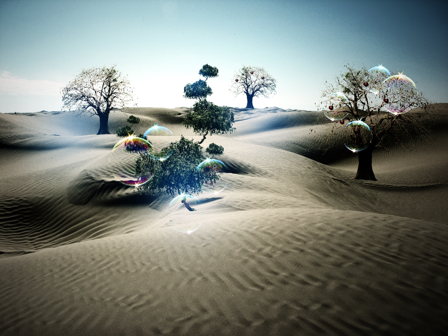Desert Tree's by TDartist