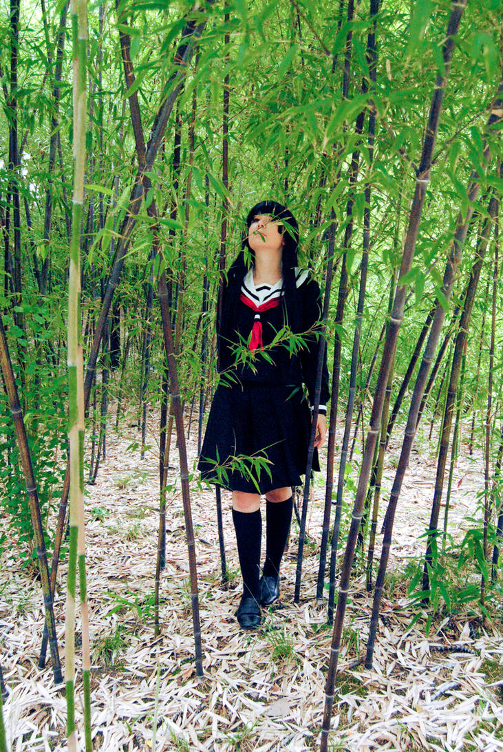 Jigoku Shoujo - Bamboo forest by YumiAznable