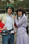 After War Gundam X - Garrod and Tiffa