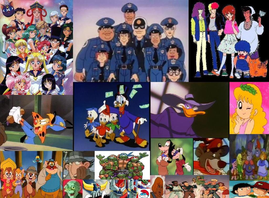 Cartoni animati e anime anni web by