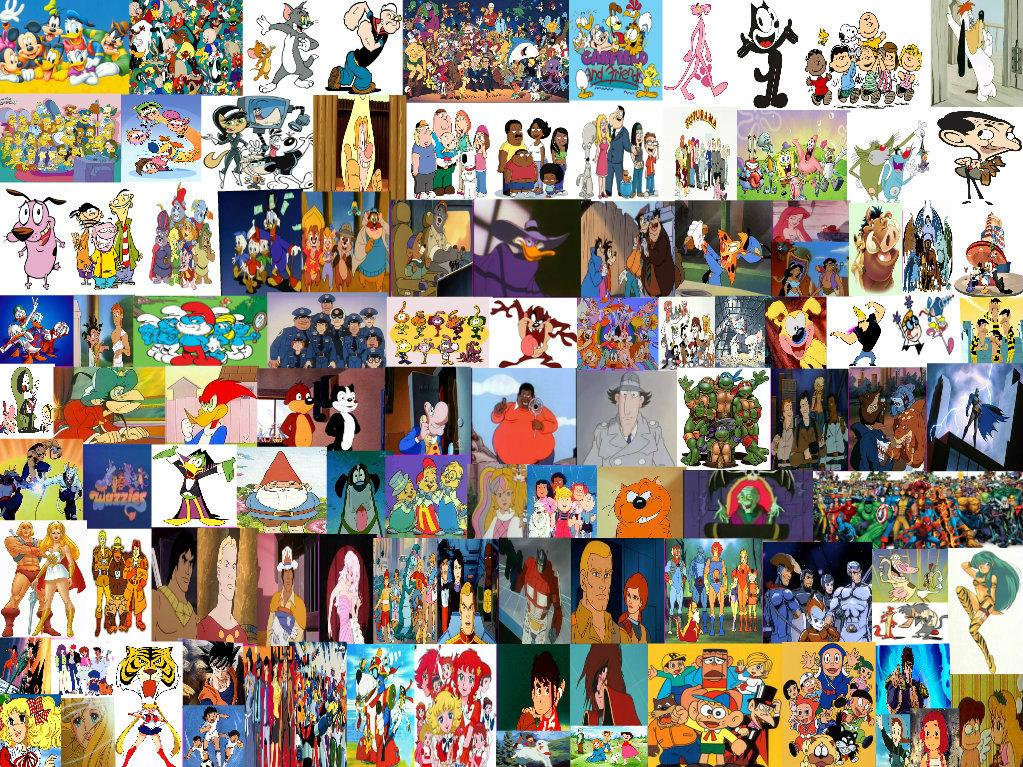 Anni oggi cartoni animati e anime by