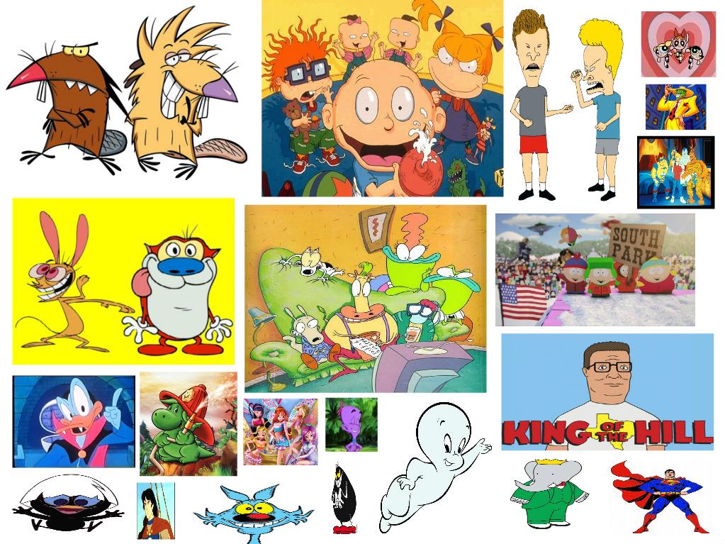 Cartoni animati e anime degli anni by