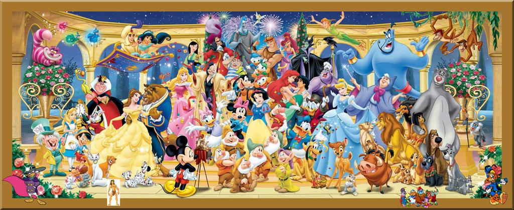 Cartoni animati disney personaggi by