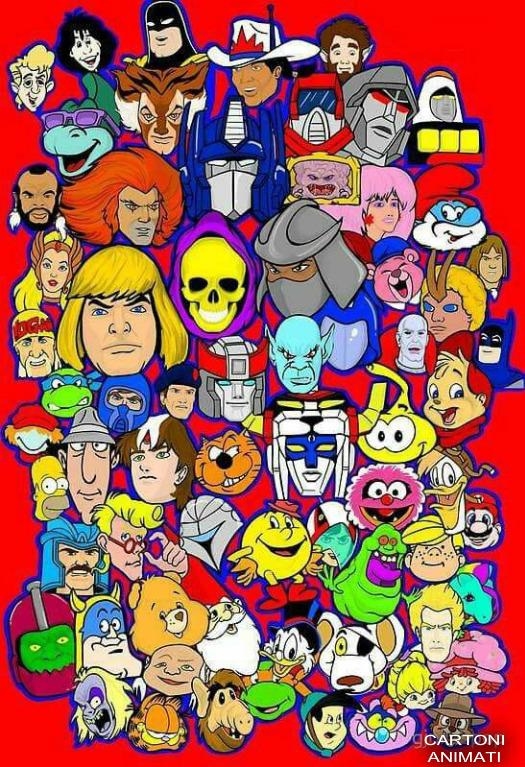 Mitici cartoni animati degli anni e by