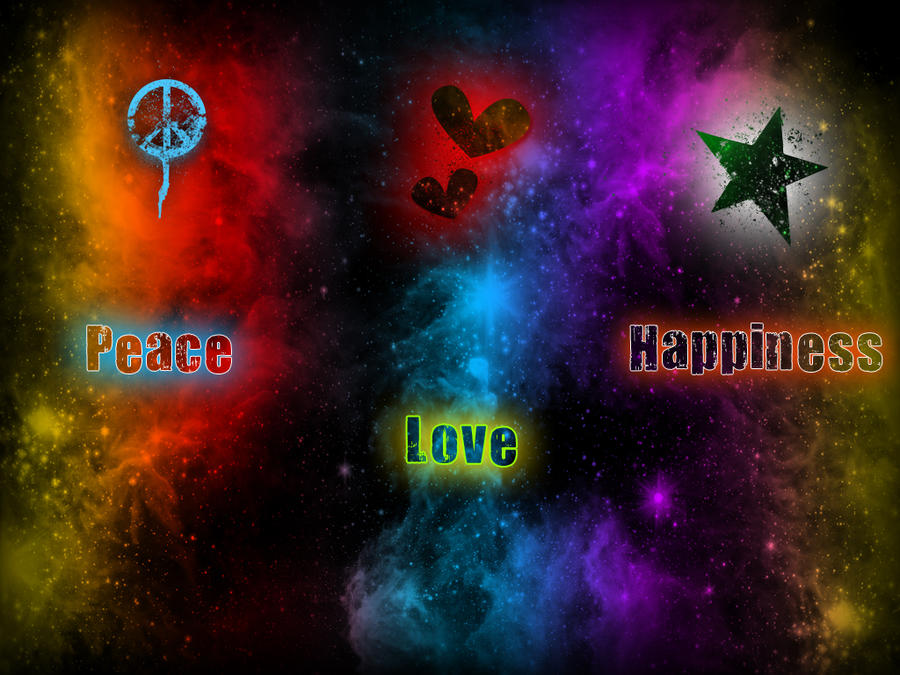 peace love happiness by mrdjdvd on deviantart