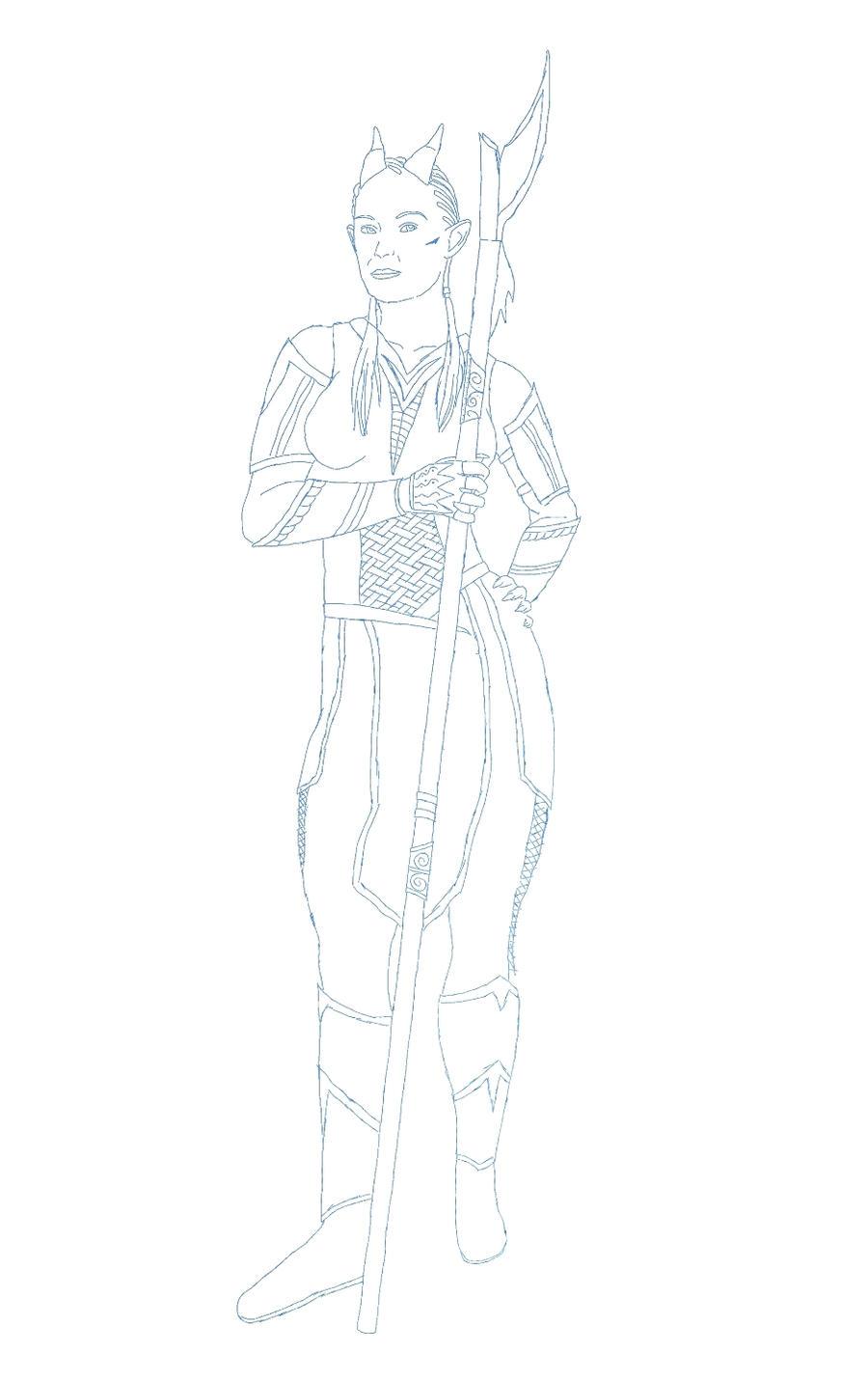 Soran Sketch by dragaodepapel