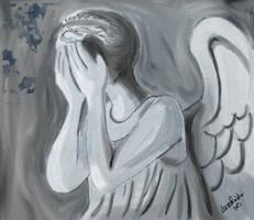 Weeping Angel by dragaodepapel