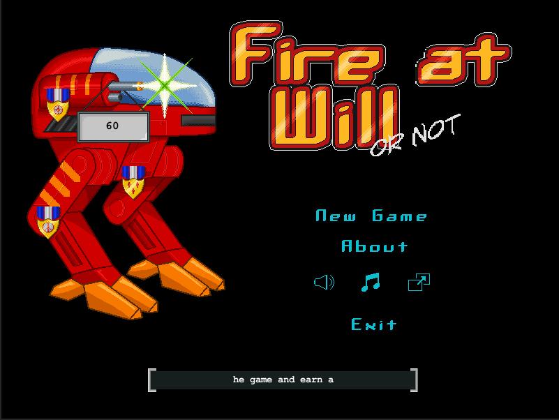 Menu - Fire At Will by dragaodepapel