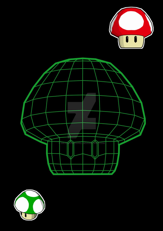 Mario's Mushroom by dragaodepapel