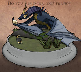 Do you remember, old Friend? Comic style