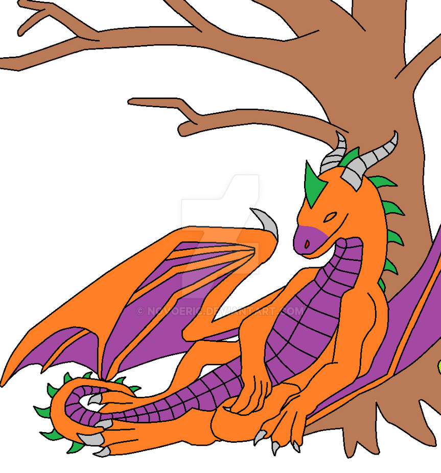 Resting on a Tree by novoeric