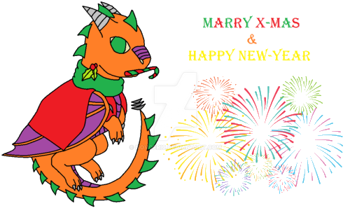 Happy X-Mas 2018 New-Year Ending (Chibi) by novoeric