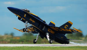 Blue Angels Takeoff by GTX-Media