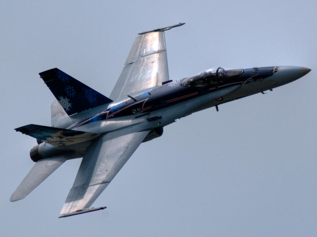 Royal Canadian Air Force CF-18 - Cleveland 2012 -2 by GTX-Media