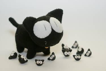 little kitties. by RainbowMisa