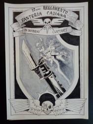 Warhammer heraldy by LookingManyStars