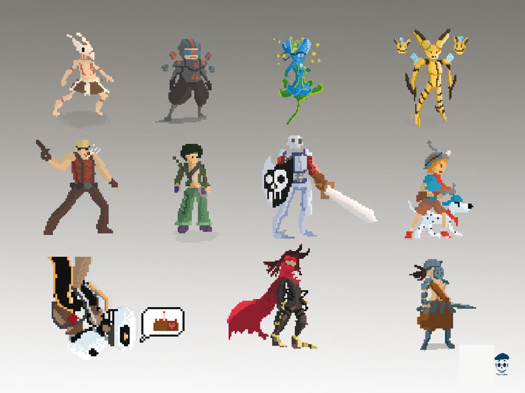 Character Design Pixel Art : Pixel character by toorobu on deviantart