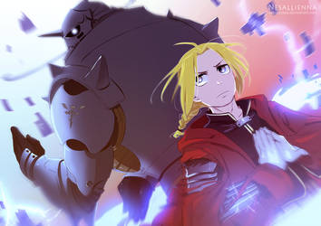FMA - Elric brothers [Fanart]