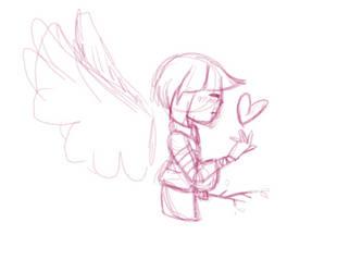 Sketch WIP by EternityKitten