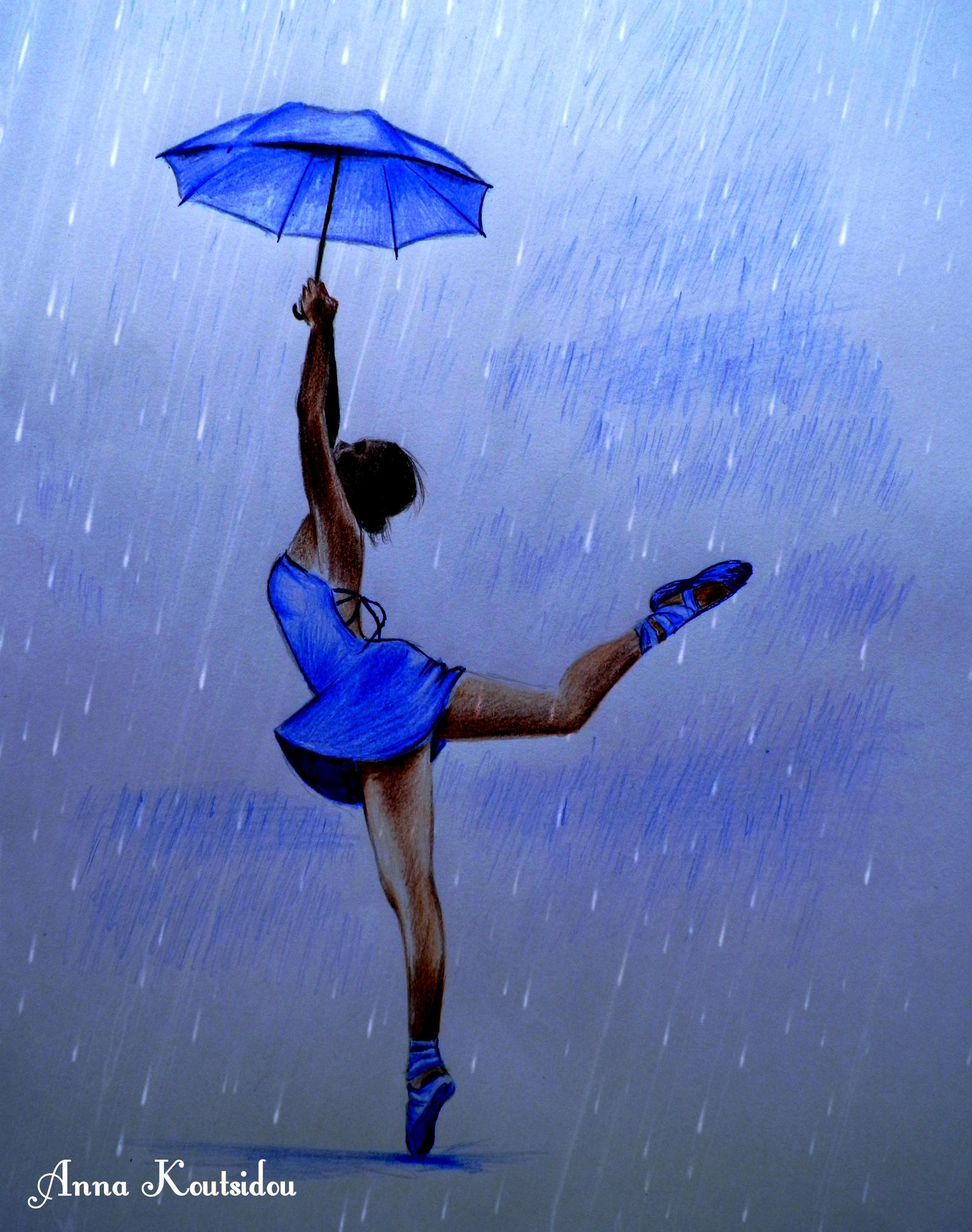 Dancing In The Rain by annakoutsidou