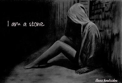 I Am A Stone by annakoutsidou