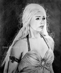 Khaleesi by annakoutsidou