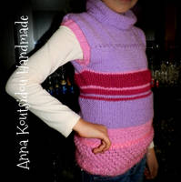 Sleeveless Knitted