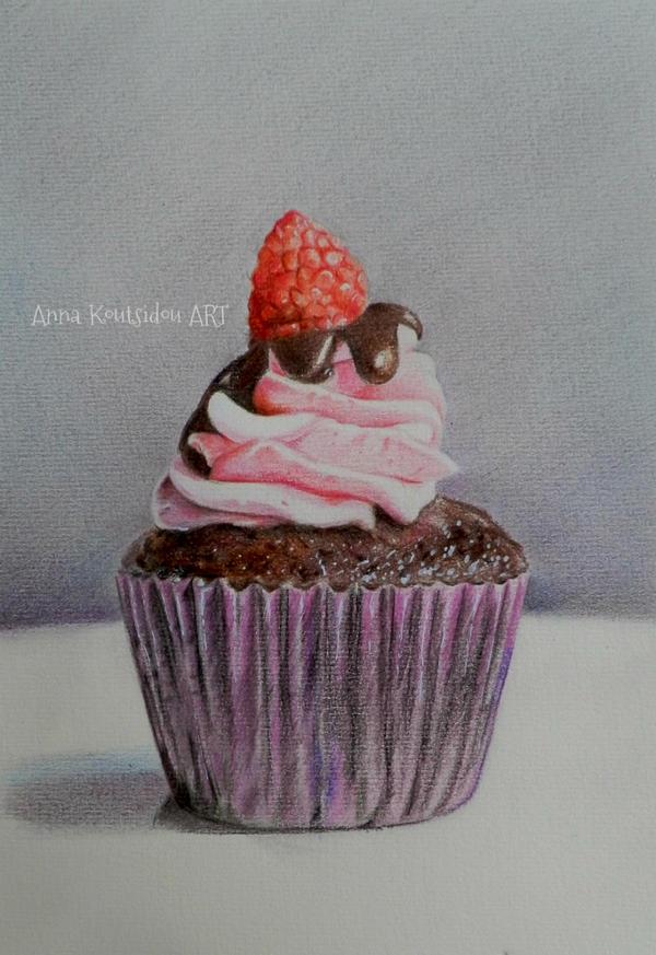 Cupcake by annakoutsidou