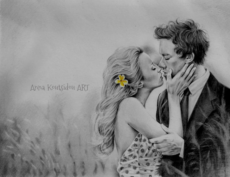 The Taste Of Your Lips by annakoutsidou