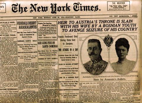 headline june 1914