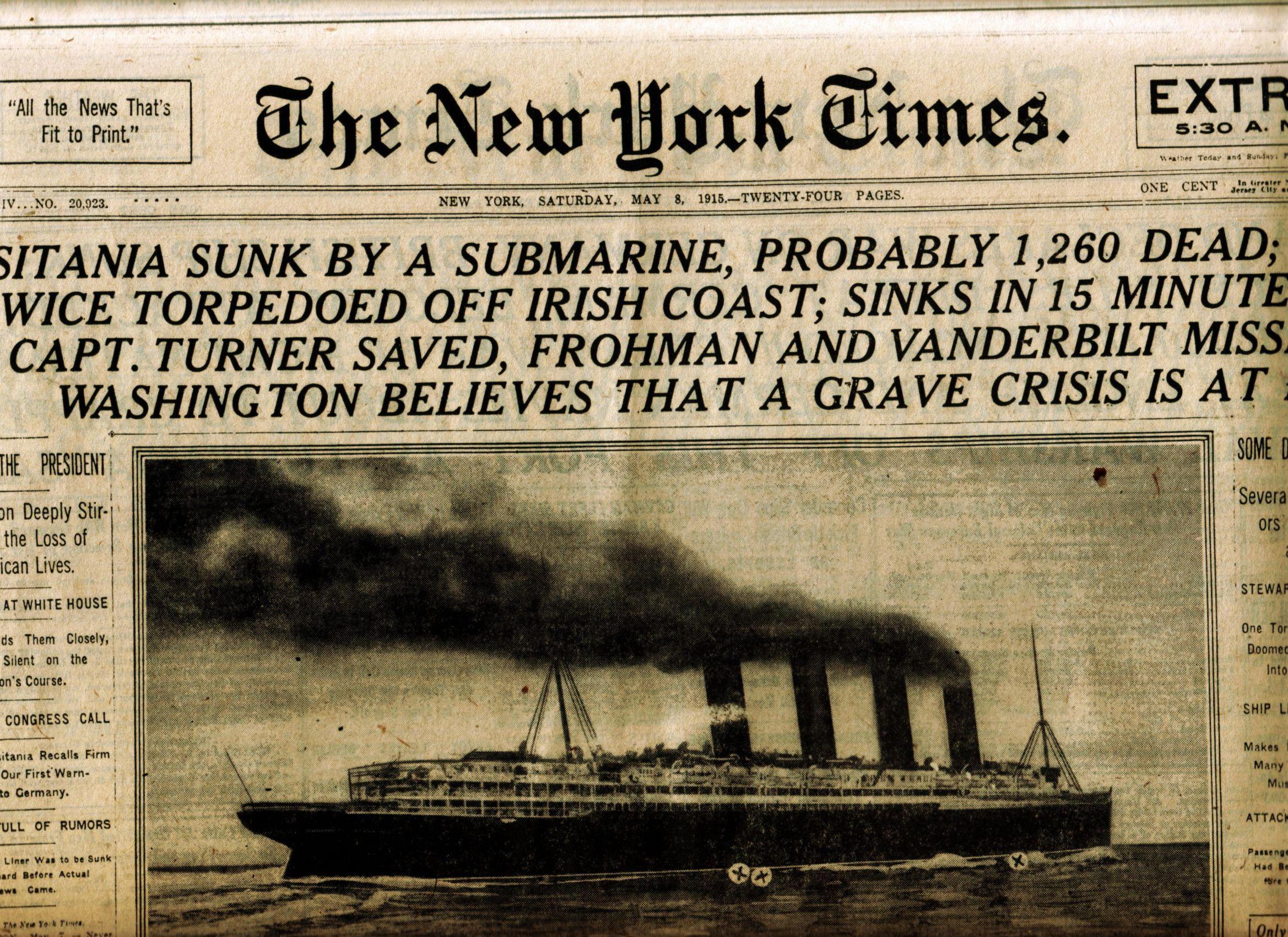 headline may 1915 by lebstock