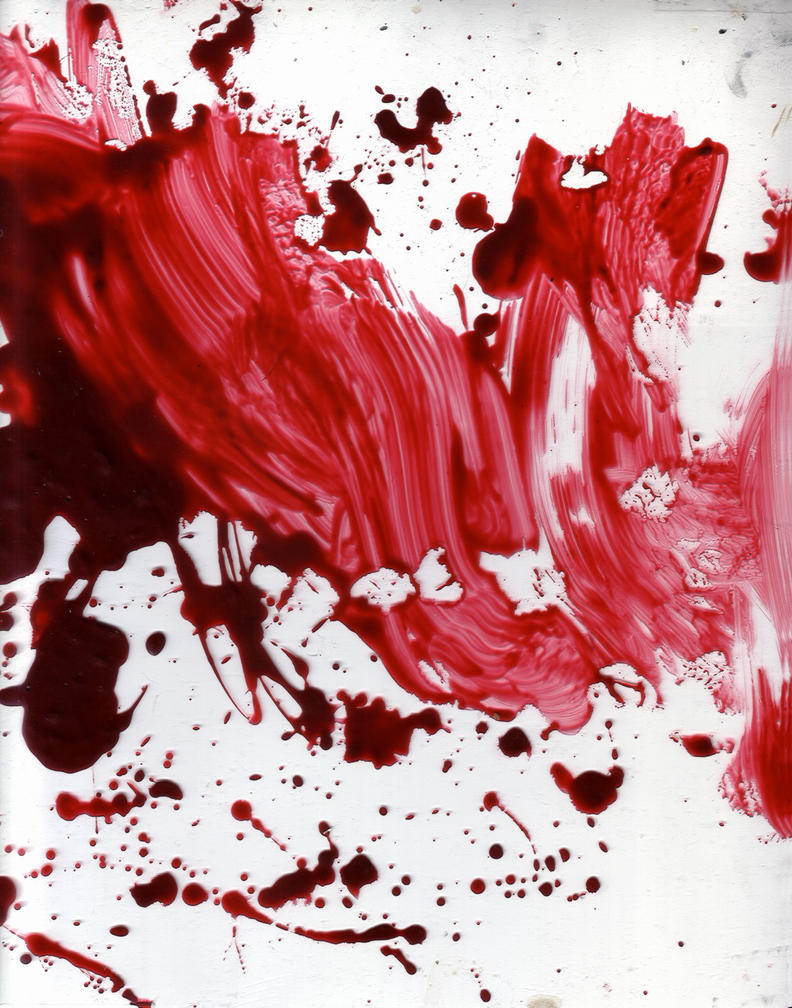 how to draw blood photoshop