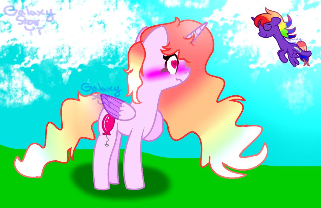Rainbow Boi And Prp by minecraftmlplover
