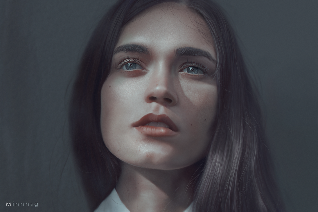 Portrait Study by minnhsg