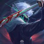 Commission- Ninja's Katana