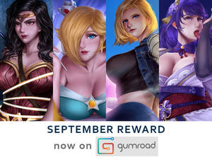 September 2021 Reward Now On Gumroad