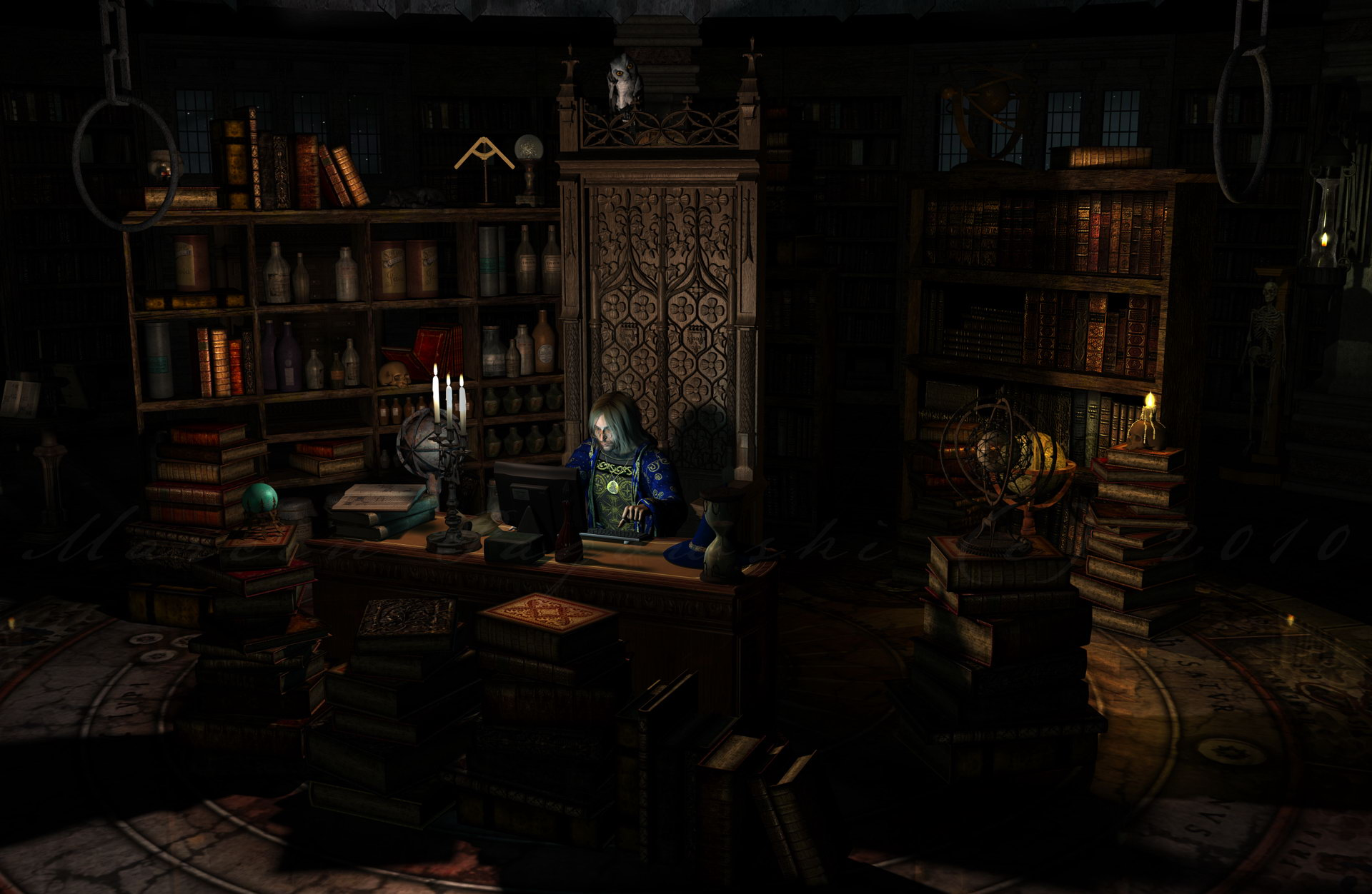 Wizard's Workshop by hedaard