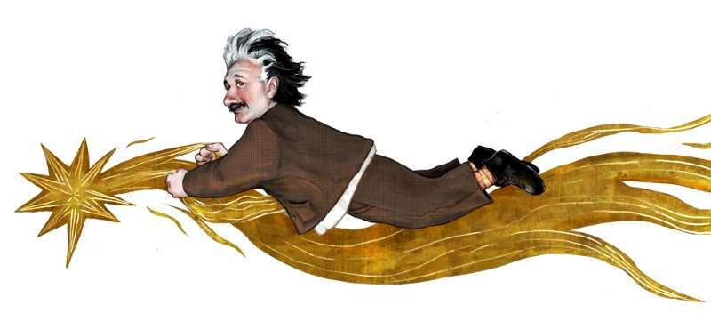Einstein by bluefooted