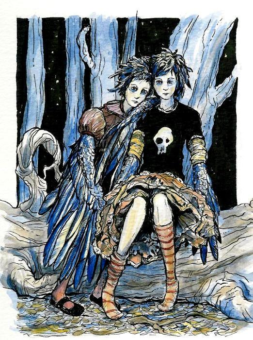 http://fc08.deviantart.net/fs4/i/2004/188/e/a/The_Crow_Girls.jpg