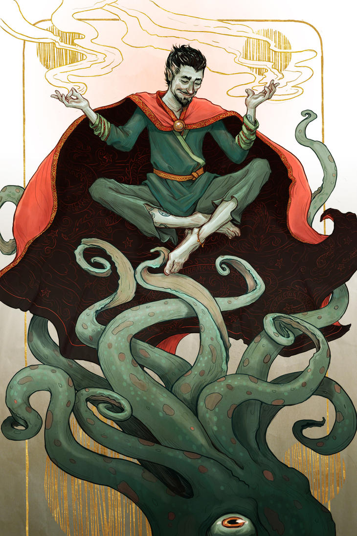 Doctor Strange by bluefooted