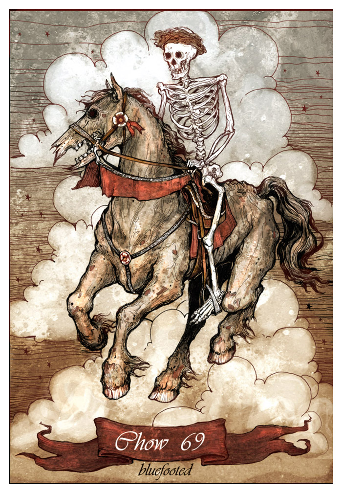 Death's Horse by bluefooted