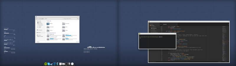 new battlestation, new desktop
