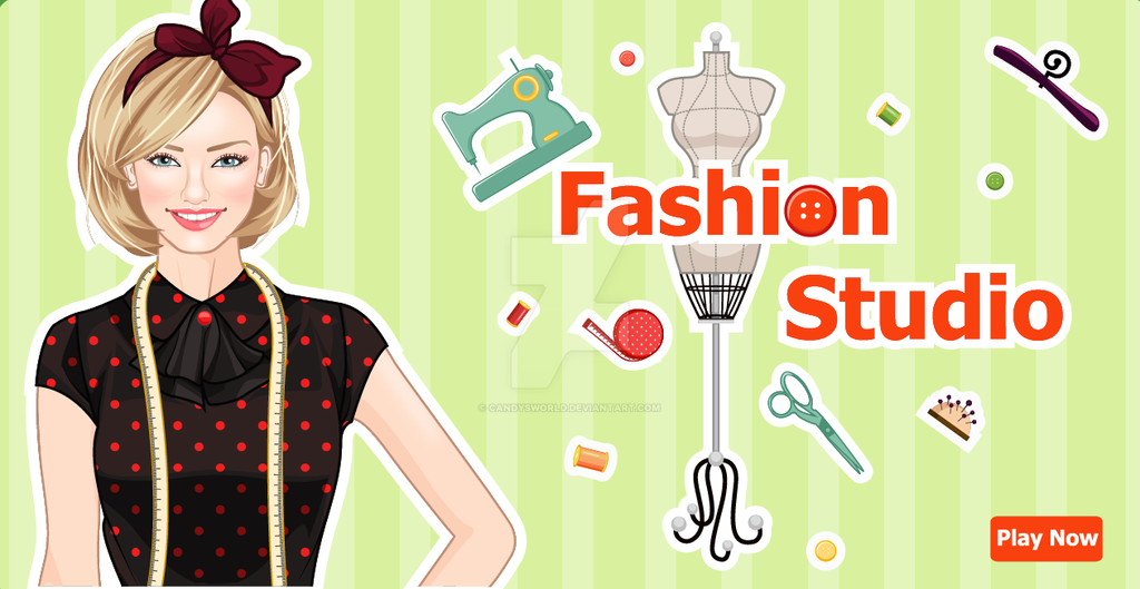 Fashion Studio Deco Game By Candysworld On Deviantart
