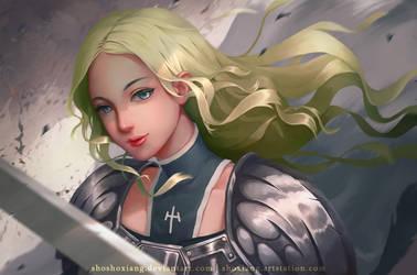 Claymore Teresa Fan-art by shoshoxiang